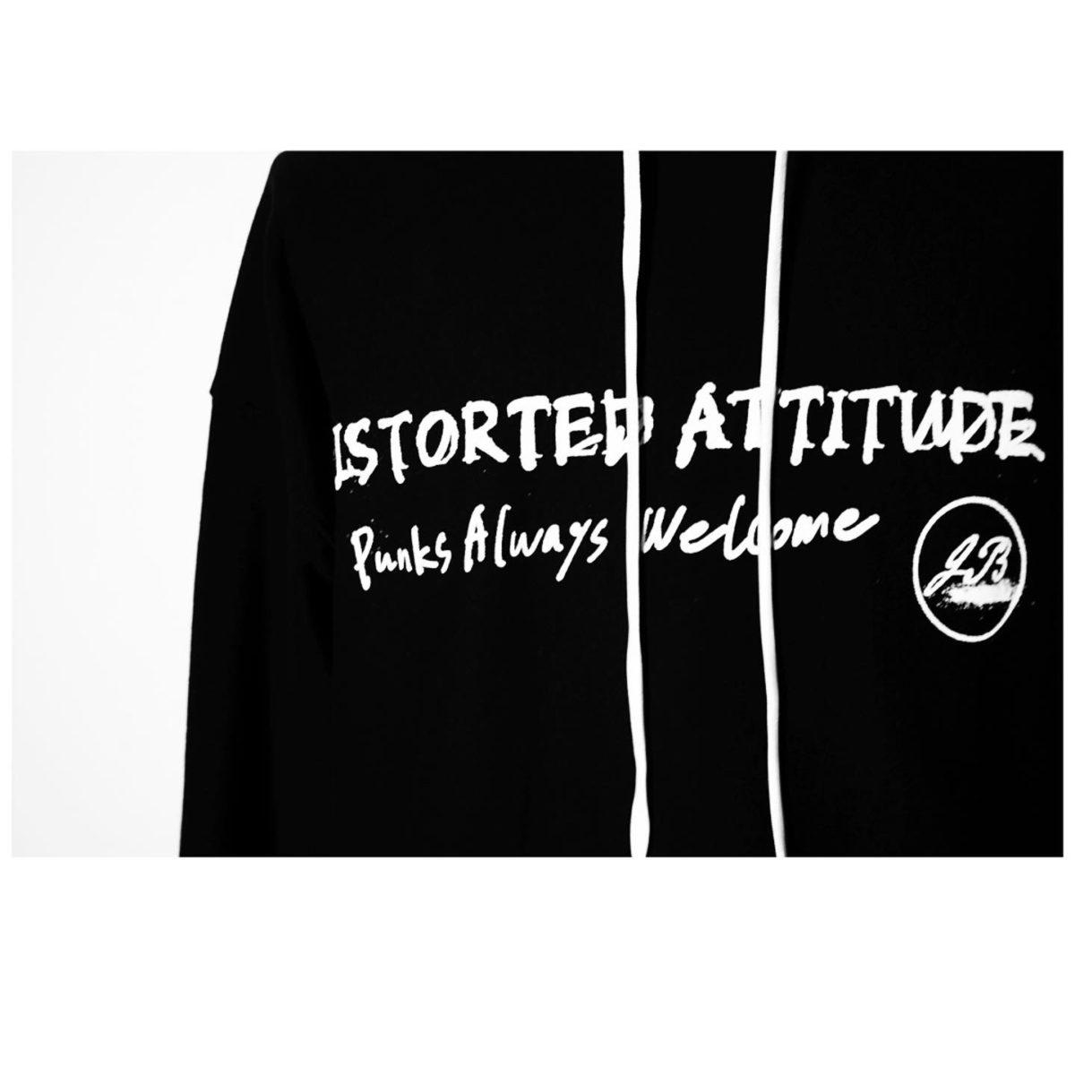 """Distorted Attitude & Punks Always Welcome"""